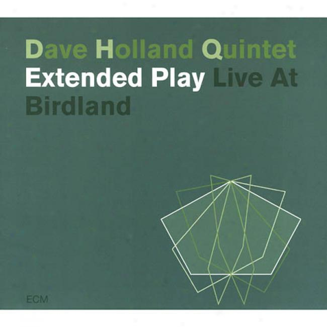 Extended Plah: Live At Birdland (2cd) (cd Slipcase)