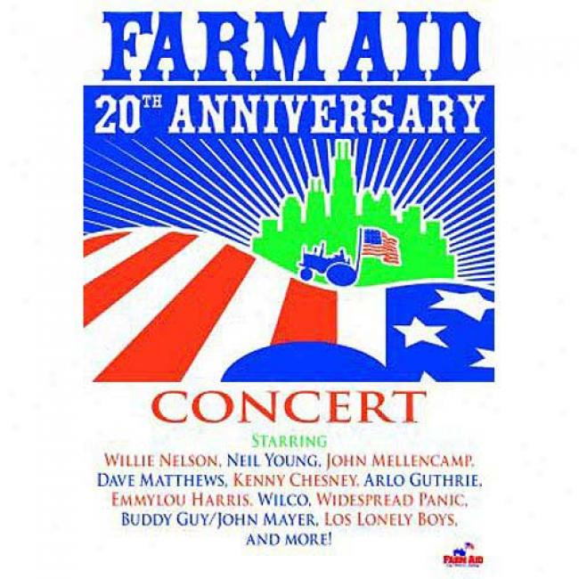 Farm Aid: 20th Anniversary Concert (wal-mart Exclusive) (music Dvd) (amaray Case)