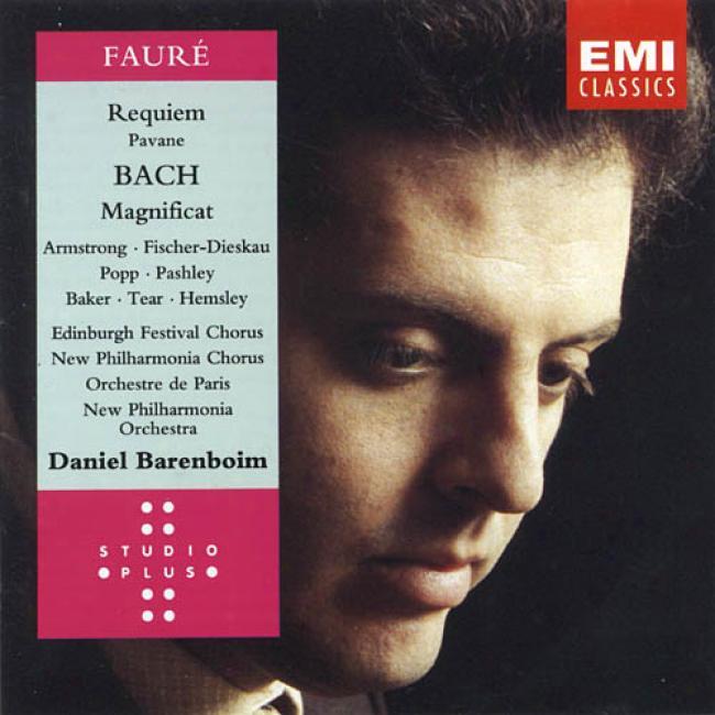 Faure: Requiem & Pavanne/bach: Magnificat (remaster)