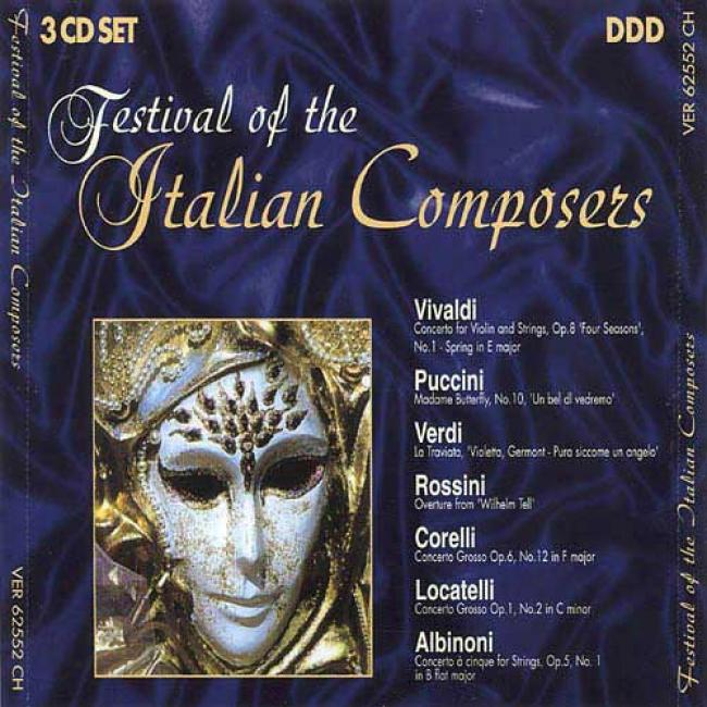 Festival Of The Italian Composers (3 Disc Box Set)