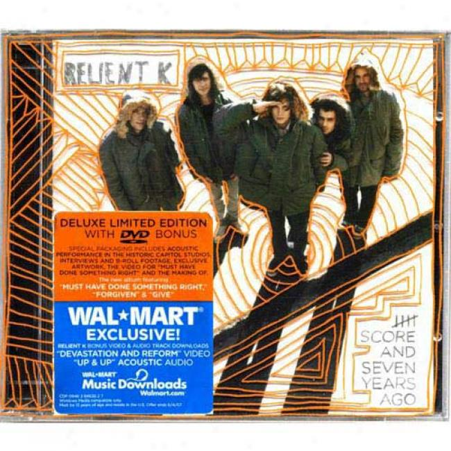 Five Score And Seven Years Ago (with Exclusive Video & Audio Download) (deluxe Limited Edition) (includse Dvd) (cd Slipcase)