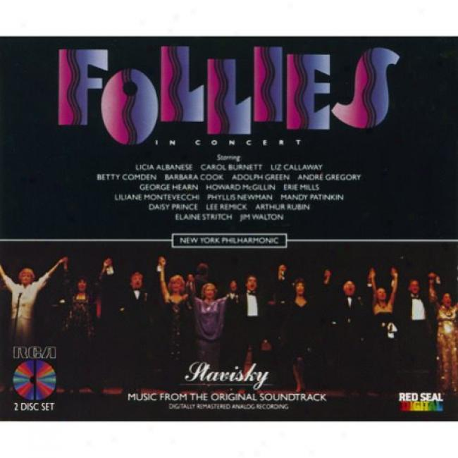 Follies: In Concert Soundtrack (2cd) (remaster)