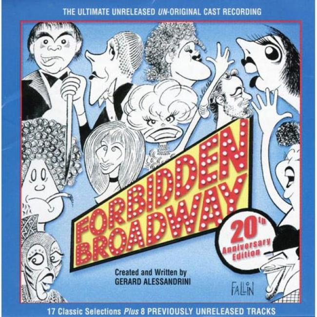 Forbidden Broadway: 20th Anniversary Soundtrack