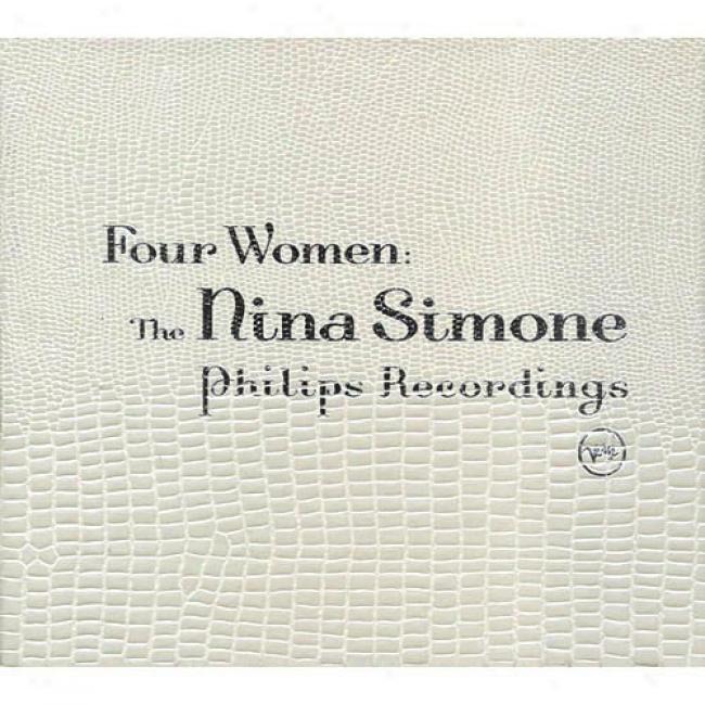 Four Women: The Nina Simone Philips Recordings (4cd) (digi-pak) (cd Slipcase)