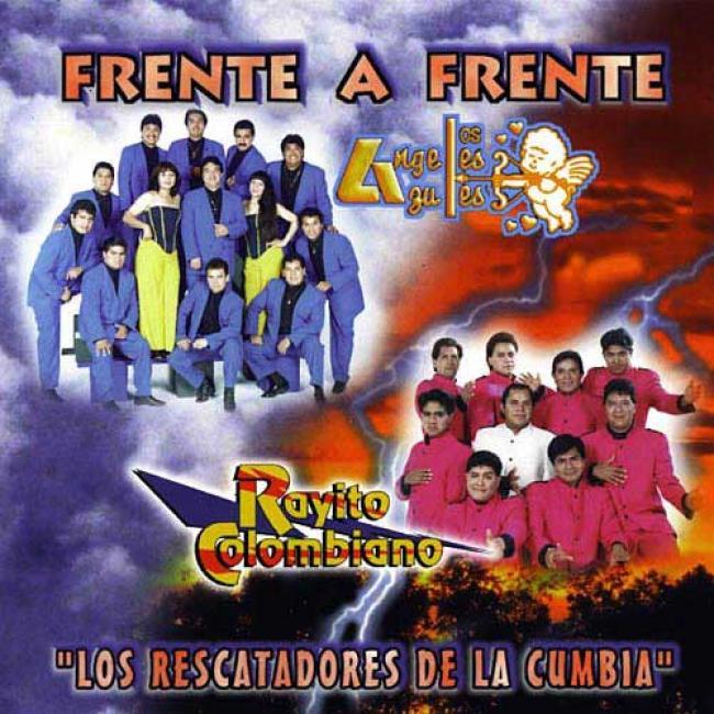 Frente A Frente: Los Angeles Azules/rayito Colokbiano - Los Rescatadores De La Cumbia
