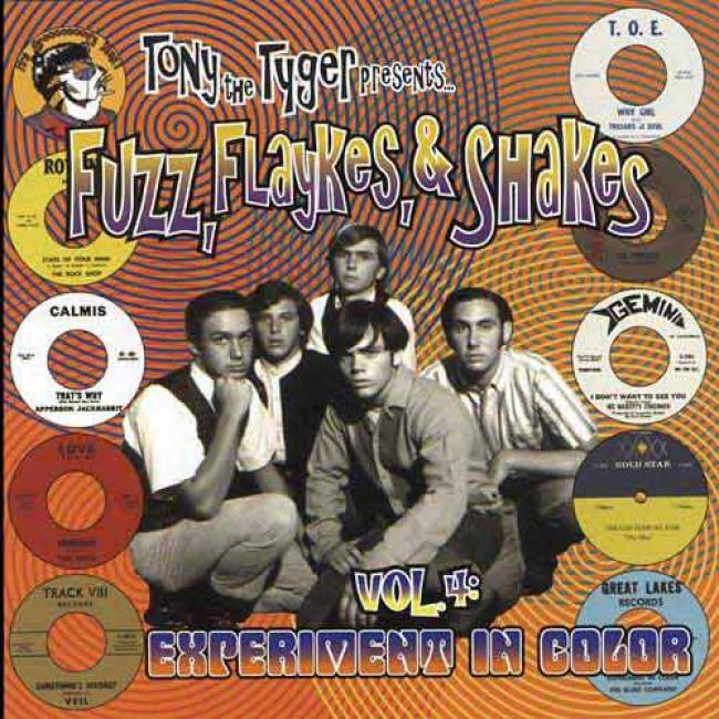 Fuzz, Flykes, & Shakes, Vol.4: Experiment In Color