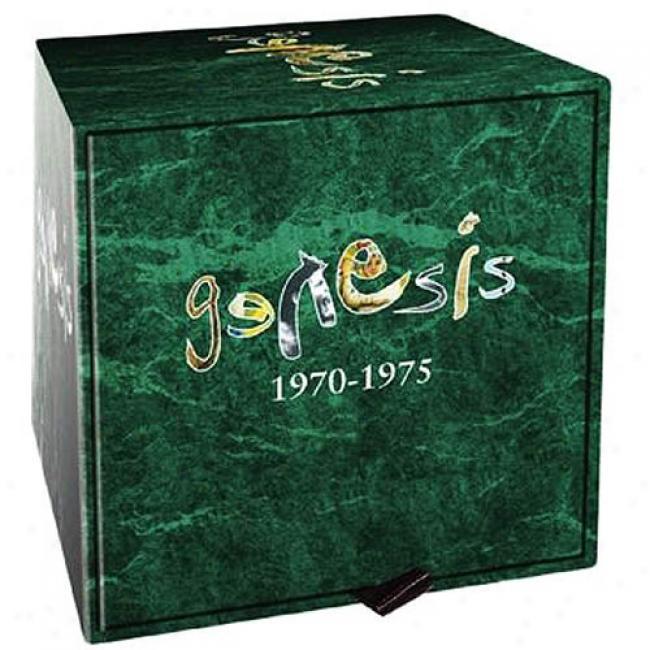 Genesis: 1970-1975 (7 Disc Box Set) (includes 6 Dvds)