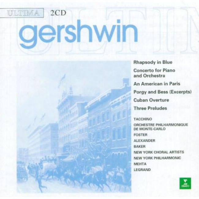 Gershwin: Rhapsody In Blue/selections From Porgy And Bess (2cd)