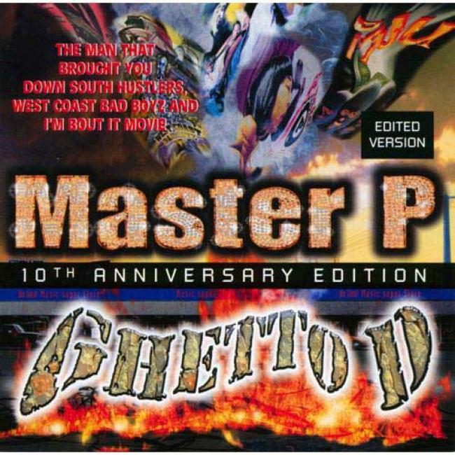 Ghettp D (edited) (10th Anniversary Edition) (2cd) (cd Slipcase)