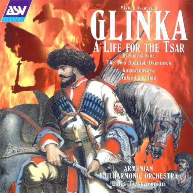 Glinka: Overtufes Tjeknavoriac Armenian Philharmonic