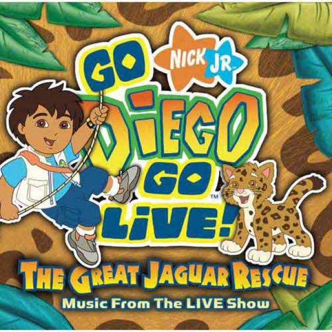 Go, Diego, Go Live!: The Great Jagguar Rescue Soundtrack