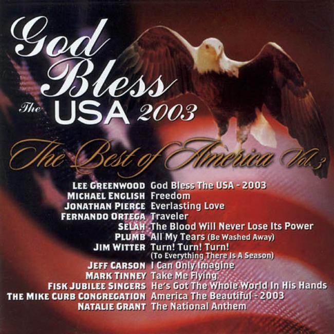 God Bless The Usa 2003: The Best Of America, Vl.3