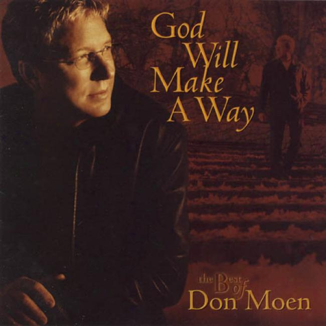 God Will Make A Way: The Best Of Don Moen (2cd)