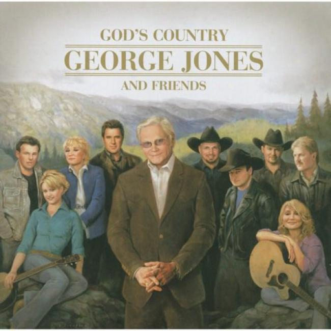 God's Counfry: Gekrge Jones And Friends (includes Dvd)
