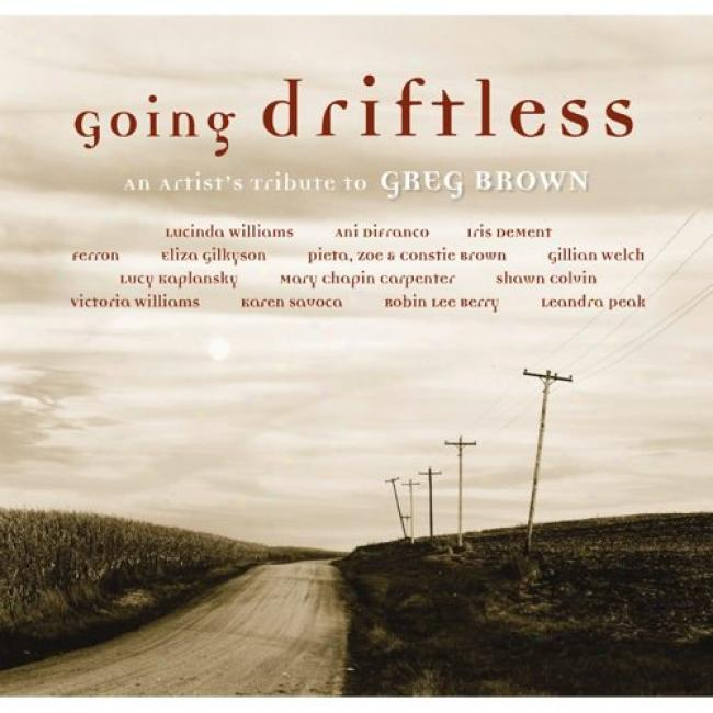 Going Driftless: An Artist's Tribute To Greg Brown (cd Slipcase) (remaster)