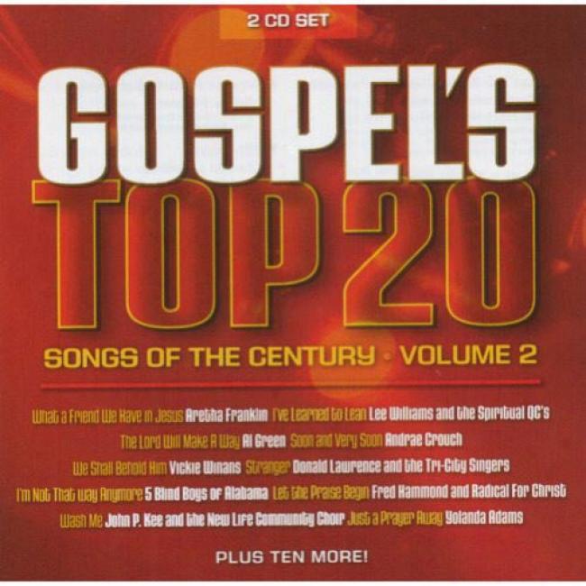 Gospel's Top 20 Songs Of The Century, Vol.2 (2cd)
