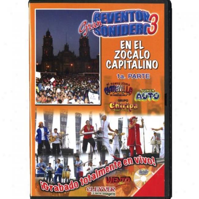 Gran Reventon Sonidero 3: En El Zocalo Capitalino 1a. Parte (music Dvd) (amaray Case)