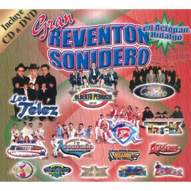 Gran Reventon Sonideros En Actopan, Hidalgo (includes Dvd) (digi-pak)