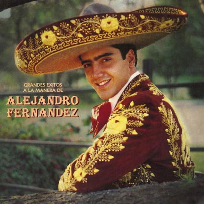 Grandes Exitos A La Maner De Alejandro Fernandez