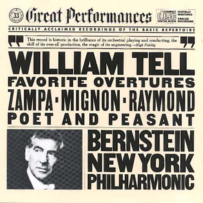 Great Performances: Bernstein: Favorite Overtures