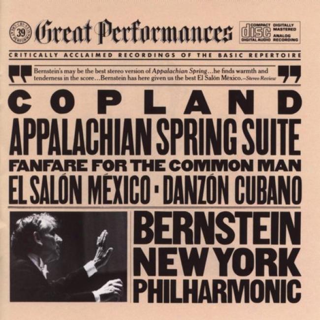 Great Performances: Copland - Appalachian/danzon/saoln