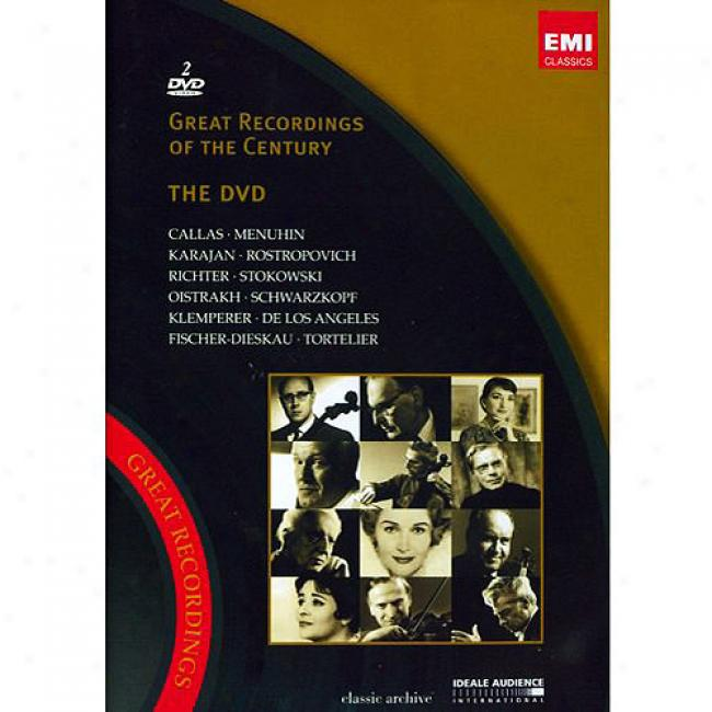Superior Recordings Of The Century (2 Discs Music Dvd) (amaray Case)