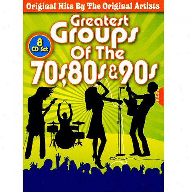 Greatest Groups Of The 70's, 80's & 90's (8cd)