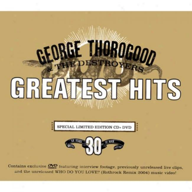 Greatest Hits: 30 Years Of Rock (special Limited Edition) (includes Dvd)