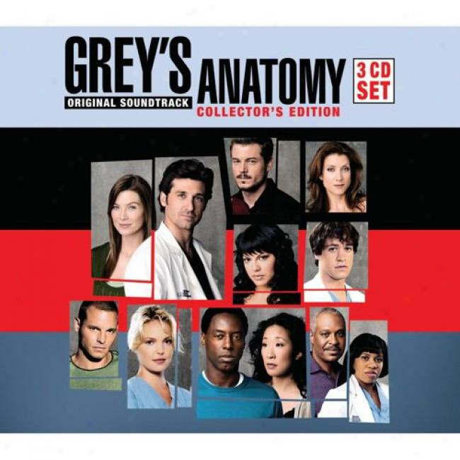 Grey's Anatomy Soundtrack (collector's Edition) (3 Disc Box Set)
