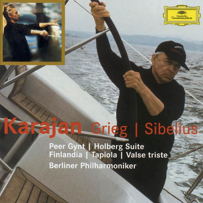 Grieg/sibelius: Orchestral Works (2cd) (remaster)