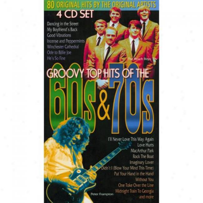 Groovy Top Hits Of The 60s & 70s (4 Disc Box Sdt)