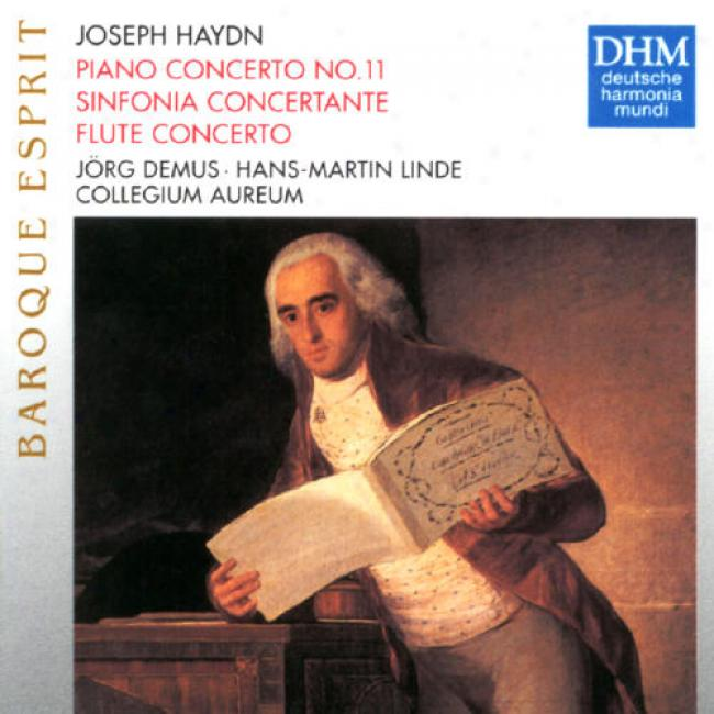 Hadyn: Baroque Esprit - Piano And Flute Concertos