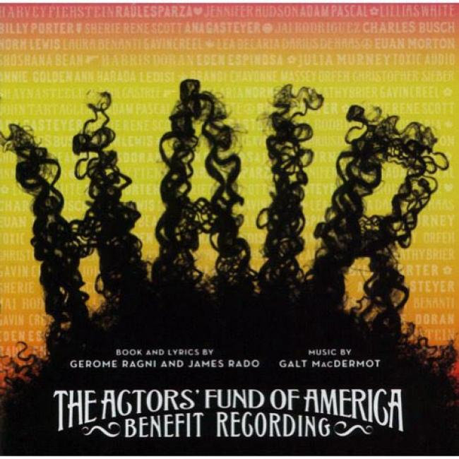 Hair Soundtrack: Thd Acyors' Fund Of Americq Benefit Recofding