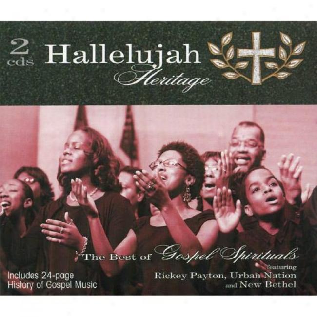 Hallelujah Heritage: The Best Of Gospel Spirituals (2cd) (digi-pak)