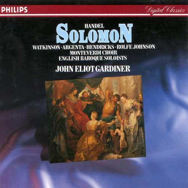 Handel: Solomon\gardiner, Watkinson, Argenta, Hendrics