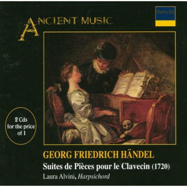 Handel: Suites Des Pieces Pour Le Clavecin (2cd)