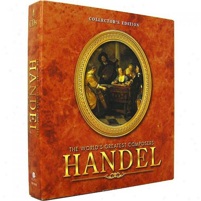 Handel: The World's Greatest Composers (collector's Edition) (4 Dsc Box Set)