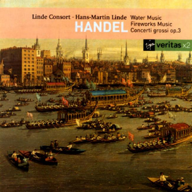 Handel: Water Music/concerti Grossi No.3 (2cd)