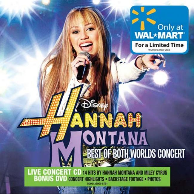 Hannah Montana 2: Best Of Both Worlds (cd & Dvd) (wal-mart Exclusive)