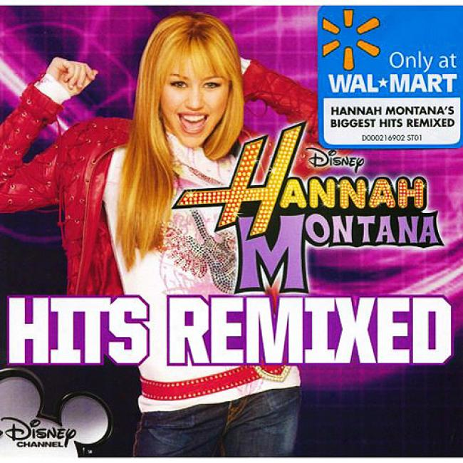 Hannah Montana Hits Remixed (wal-mart Exclusive)