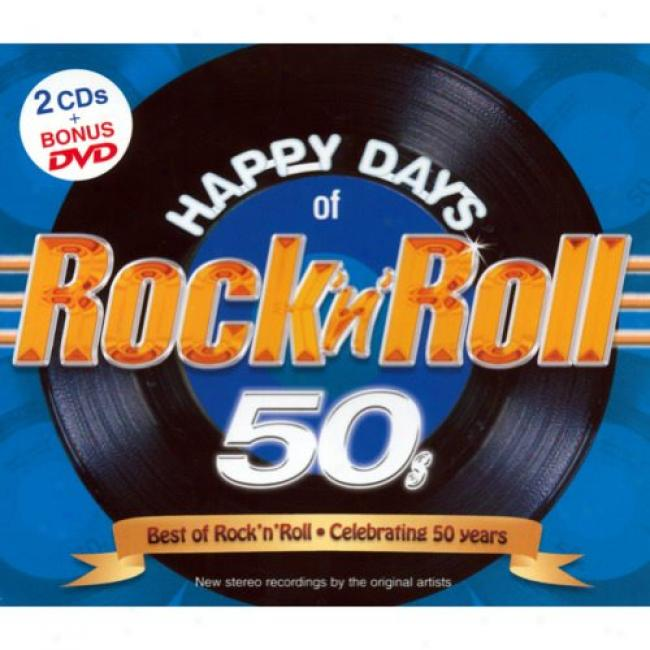 Hap;y Days Of Rock 'n' Roll 50's (2cd) (incluxes Dvd) (digi-pak)