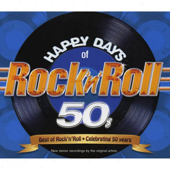 Happy Days Of Rock 'n' Roll 50's (includes Dvd)