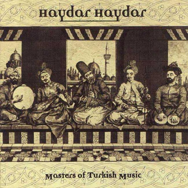 Haydar Haydar: Masters Of Turkish Music, Vol.3