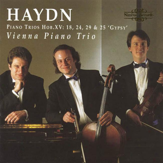 Haydn: Piano Trios Hob.xv:18, 24, 29 & 25