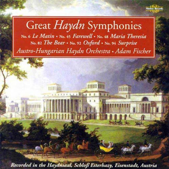Haydn: Symphonies Nos.6, 45, 48, 82, 92 & 94 (2cd)