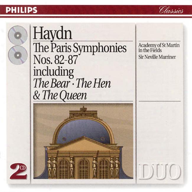 Haydn: The Paris Symphonies Nos 82-87 / Sir Neville Marriner