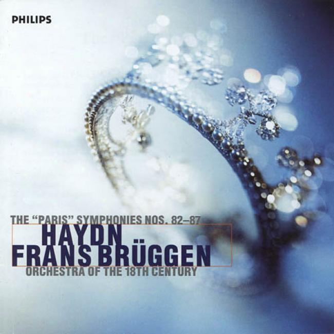 Haydn:the Paris Symphonies No 82-87/bruggen, Et Al