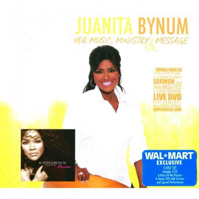 Her Music, Ministry & Message (wal-mart Exclusive) (2cd) (includes Dvd) (digi-pak)