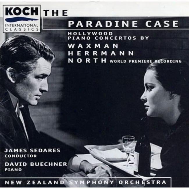 Herrman, Waxman, North: Pano Concertos/beuchner, Sedares