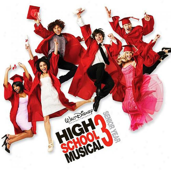 Hgih School Musical 3: Senior Year Soundtrack (limited Edition) (includes Dvd)